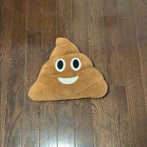 Other - Poop emoji pillow